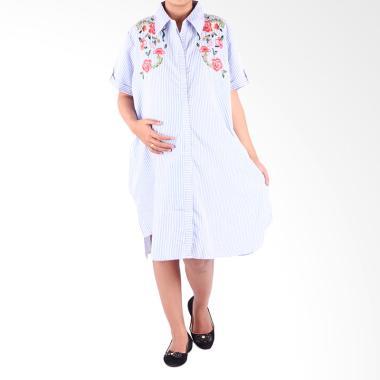 HMILL D1316 Biru Dress Hamil