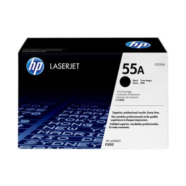 HP Toner Cartridge for HP LaserJet P3015 - Black [55A/6K]