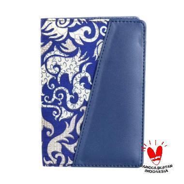 harga Bukuku Batik Dompet Passport - Navy Blibli.com