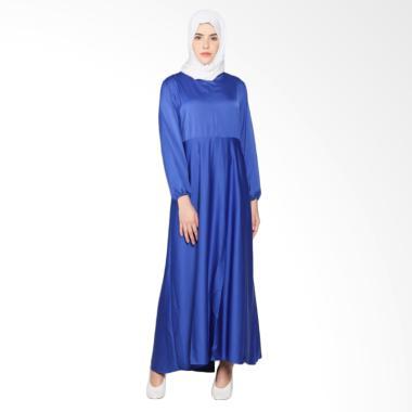 Rauza Rauza Kira Dress Muslim Wanita - Well Navy