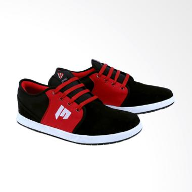 Garsel Sneakers Shoes Pria - Hitam GDG 1017