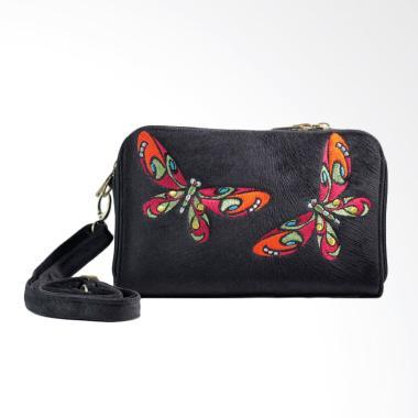Trojika HPO Twin Butterflies Tas Selempang Wanita