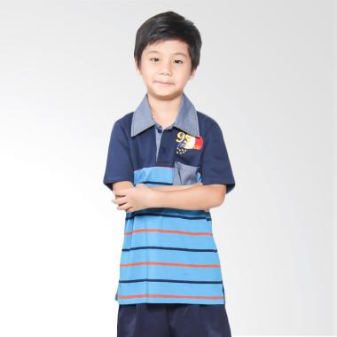 Versail Kids M3197 Kaos Wangki Junior Salur - Kombinasi