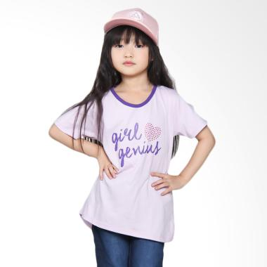 Versail Kids S2063 Kaos Oblong Junior Sablon - Ungu