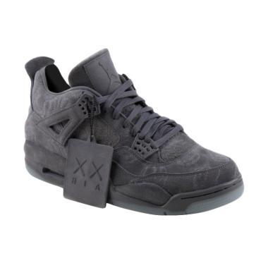 ... official store dijaminmurah nike men air jordan 4 retro kaws sepatu  olahraga pria grey bee0a 73f7c 1bd4721d12