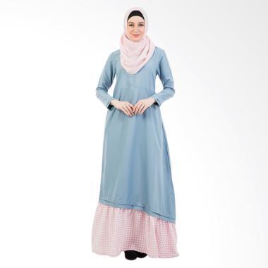 Valisha Jihan Cerulean Dress Wanita - Blue