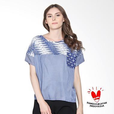 Batik Segoro Mas SM 078 #3 Rane T-Shirt Batik Wanita