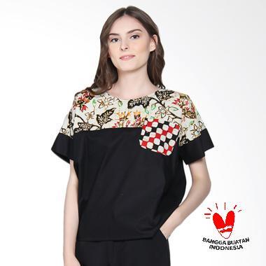 Batik Segoro Mas SM 078 #4 Rane T-Shirt Batik Wanita
