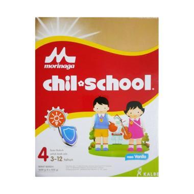 Morinaga Chil School Tahap 4 Vanila Susu Formula [1600 g]