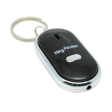 TokoLinggauCom Siul Alarm Gantungan Kunci - Black
