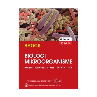 EGC BROCK Biologi Mikroorganisme Edisi 14 Vol. 1 Buku Edukasi