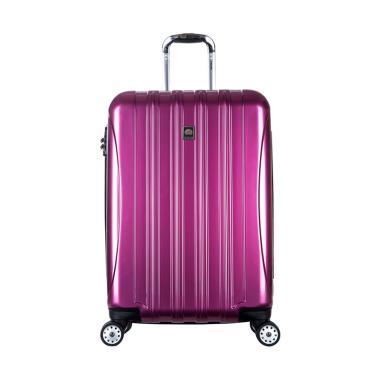 Helium Aero Glossy Medium Hardcase Trolley - Ungu [69 cm/4 Wheels]