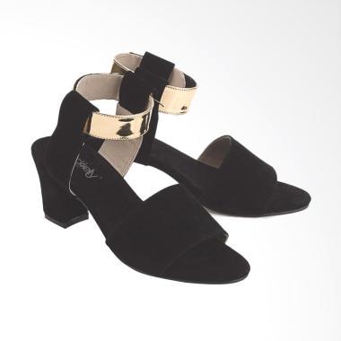 Blackkelly LDG966 Heels Gelang Cibaduyut Sepatu Sandal Wanita