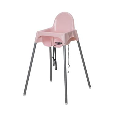 Ikea Antilop Baby High Chair Kursi Makan Anak - Pink