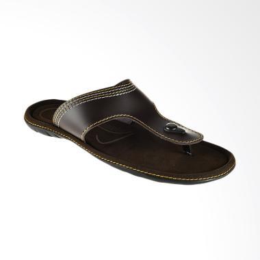 Bata Ramse Men Sandal Pria - Brown [8714146]
