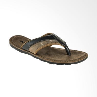 Bata Qatar Sandal Pria - Black [8716069]