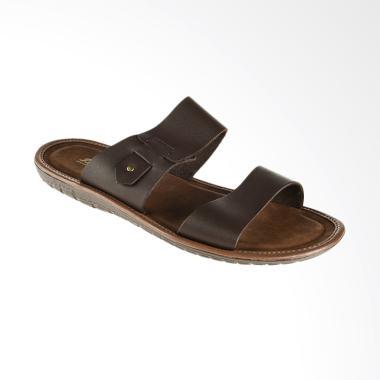 Bata Quent Men Sandal Pria - Brown [8744037]