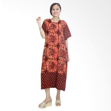 Batik Alhadi RDT001-06C Daster Kerut Baju Tidur Lengan Pendek