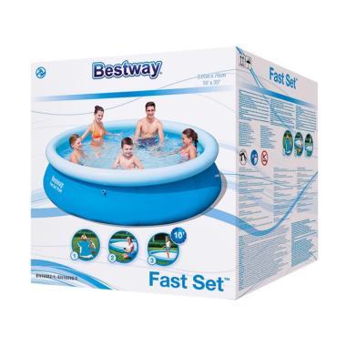 Bestway 57266 Fast Set Pool Kolam Renang [305 x 76 cm]