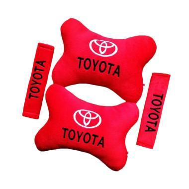 harga Indonesia Motor Motif Toyota Set Aksesoris Interior Mobil - Red Blibli.com