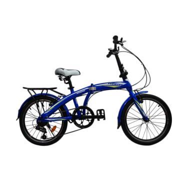 Phoenix 2026 Folding Bike - Blue [20 Inch]