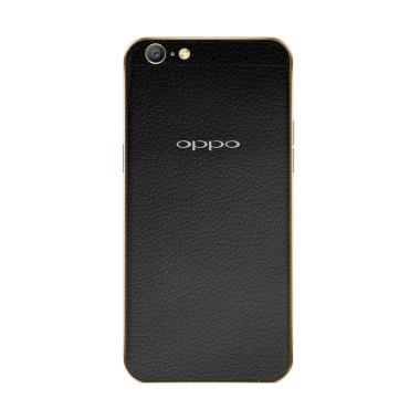 9Skin Premium Skin Protector for OPPO A57 - Black Leather [3M]