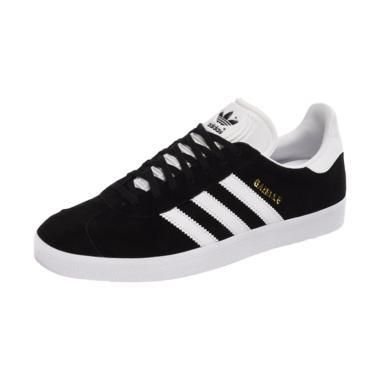 adidas Gazelle Sepatu Olahraga Pria - Black White [BB5476]