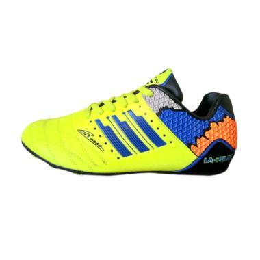 Sevenray La Pulga JR Sepatu Futsal Anak - Hijau Biru