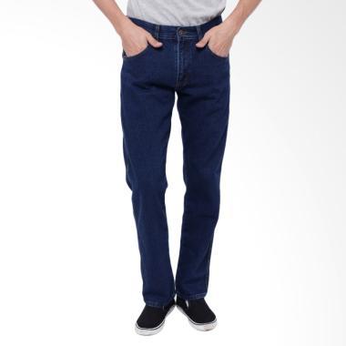 Edwin Vegas 04 Reguler Fit Celana Jeans Pria - Dark Blue