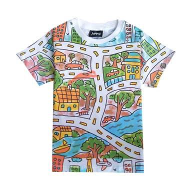 Jumma Kids Draw My Mind Baju Atasan Anak Laki-Laki