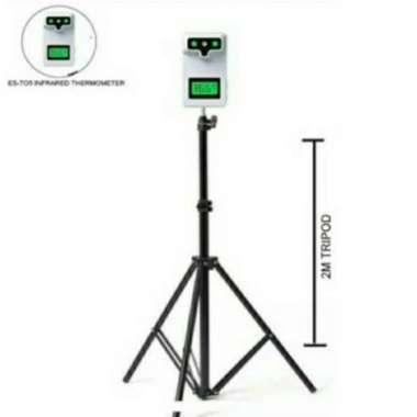 harga Tripod termometer infrared K3S-K3 pro-K3X-K3 plus-K9-K9 pro Muticolor Blibli.com