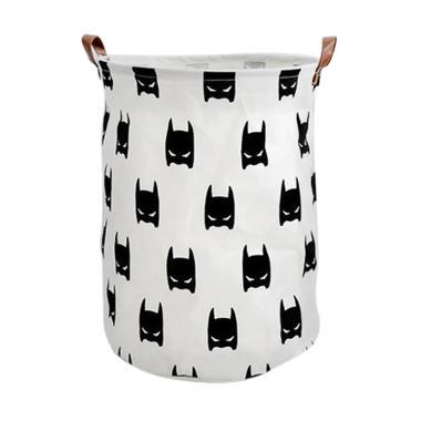 LOKA Batman Laundry Bag - Putih
