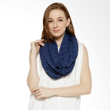 REE Two Tone Shawl - Navy