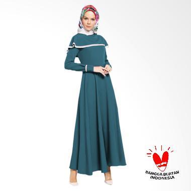 jfashion_jfashion-long-dress-maxi-variasi-renda-tangan-panjang-gamis-muslim-wanita---vinka-biru-tosca_full05 Rok Muslim Cantik Dan Murah Termurah lengkap dengan List Harganya untuk tahun ini