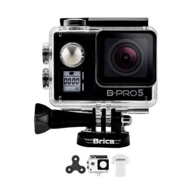 Brica B-PRO 5 AE Mark IIs AE2s 4K C ... irt Action Camera - Hitam