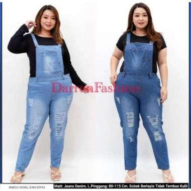 Unik Baju Celana Kodok Jumper Jumpsuit Overall Jeans Ripped RIP Pria Wanita Murah