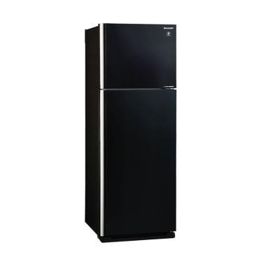 SHARP SJIG571PGBK Big 2 Door Refrigerator Kulkas