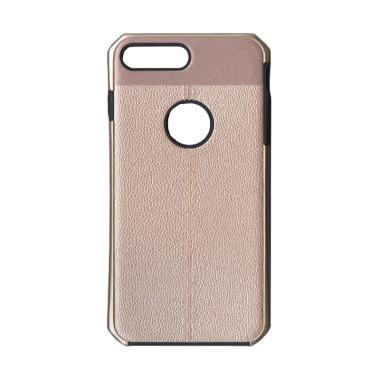 LOLLYPOP Leather Premium for Iphone 8 Plus - Gold