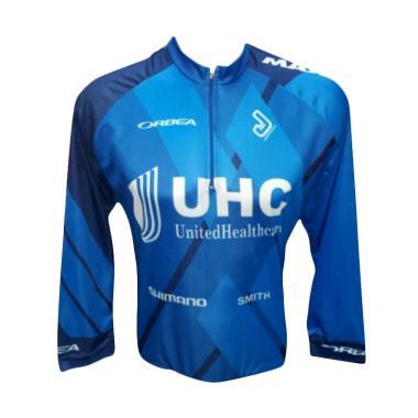 Beli UHC Orbea Baju Sepeda Lengan Panjang - Biru Terbaru 13b09059e