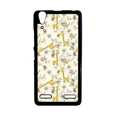 harga Bunnycase Giraffe And Monkey Background L0149 Custom Hardcase Casing for Lenovo A6000/ A6000 Plus/ A6010 Blibli.com