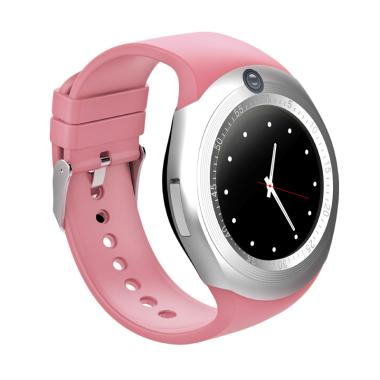 Xwatch DZ11 Y1 Plus Smartwatch for Android and IOS - Pink