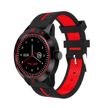 Xwatch T688 Smartwatch for Android and iOS - Black Red
