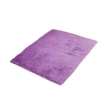 Rasfur Besar Karpet Bulu - Ungu Barny [200 x 150 x 3 cm]