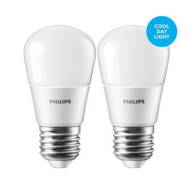 Philips Lampu LED Bulb 3 (25W) Cool Day Light/Putih - 2 Pcs