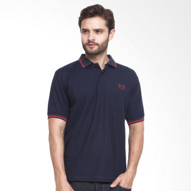 CBR Six Wangky Kaos Polo Pria - Navy [FFC 273]