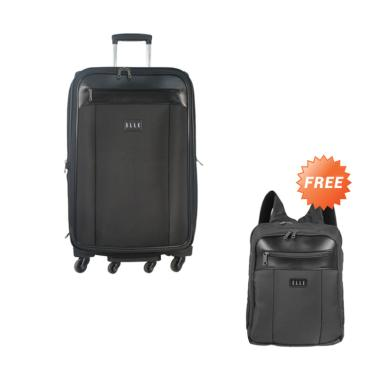 Elle 7206325-42 Tas Koper - Black [25 inch] + Free Backpack unisex