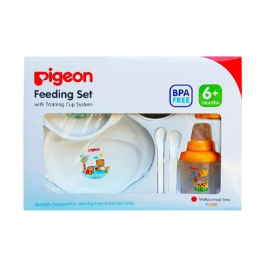 Pigeon Feeding Set with Training Cup System [Besar New]
