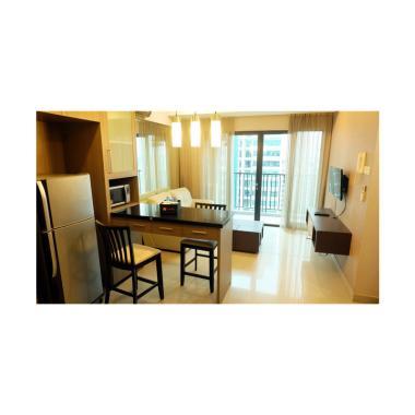 Travelio IV0LUZY9 2BR Hampton's Park Apartment [1 Bulan]