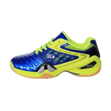 Hi-Qua Grand Prix Sepatu Badminton - Blue Citroen