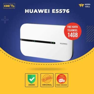 harga Modem Wifi Huawei E5576 Mifi 4G LTE Unlock Gratis Telkomsel 14Gb/2Blan Blibli.com